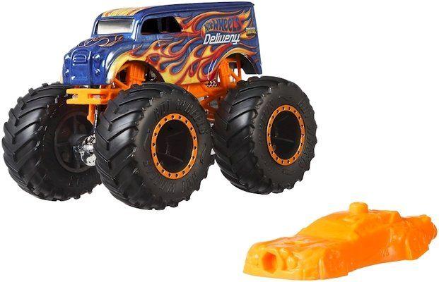 Детска играчка Hot Wheels Monster Trucks - Голямо бъги, Delivery - 4