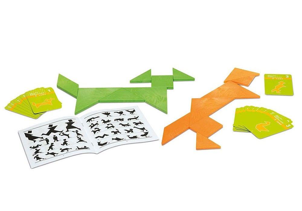 Детска логическа игра Cayro - Танграм, двоен - 2