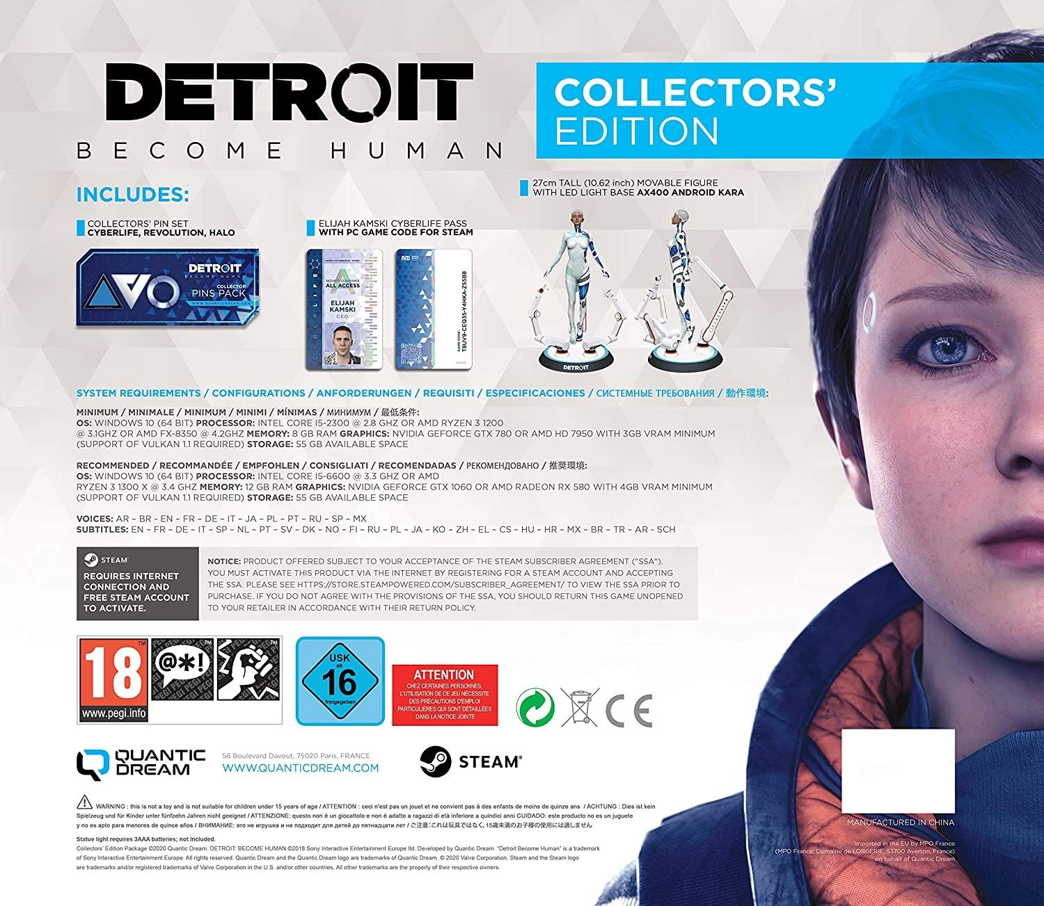 Detroit: Become Human Collector's Edition (PC) - 3
