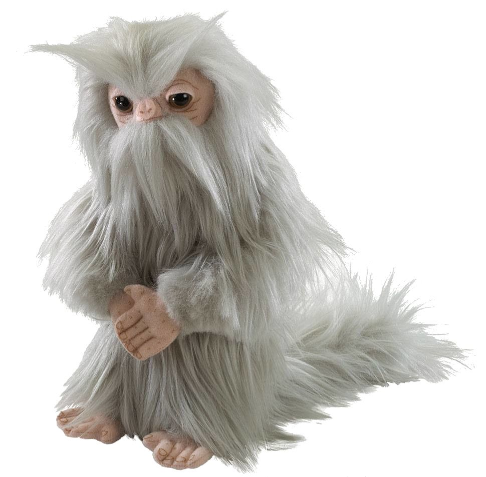 Плюшена играчка Noble Collection Fantastic Beasts - Demiguise, 28 cm - 1