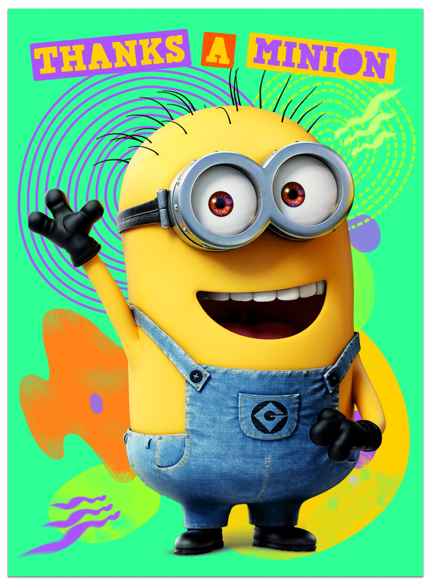 Поздравителна картичка Danilo - Despicable Me: Minion Thanks A Minion - 1