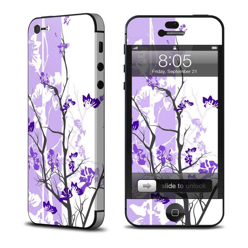 Калъф Decalgirl Violet Tranquility за iPhone 5 - 1