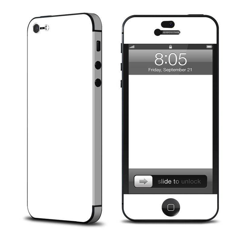 Decalgirl Solid State White за iPhone 5 - 1