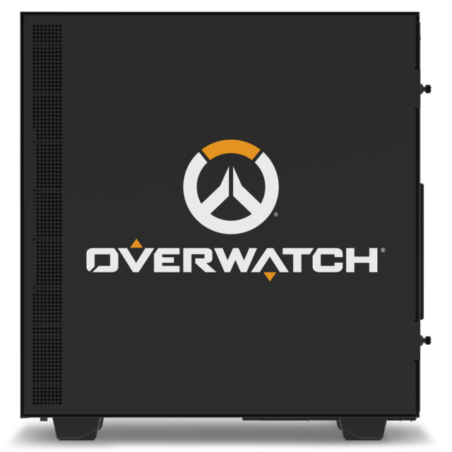 Кутия NZXT - H500 Overwatch Special Edition, Mid-Tower, черна - 4