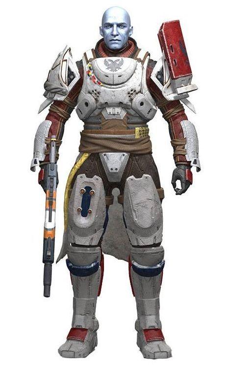 Екшън фигура Destiny 2 - Zavala, 18 cm - 1