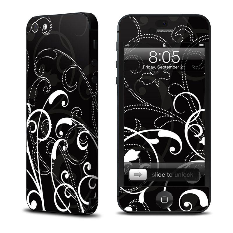 Decalgirl B&W Fleur за iPhone 5 - 1