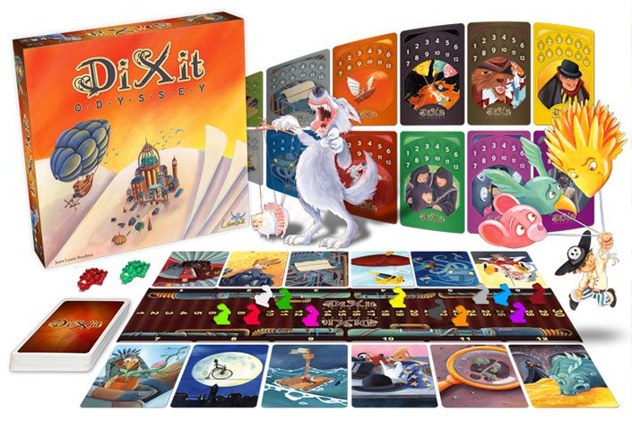 Парти настолна игра Dixit Odyssey - 3