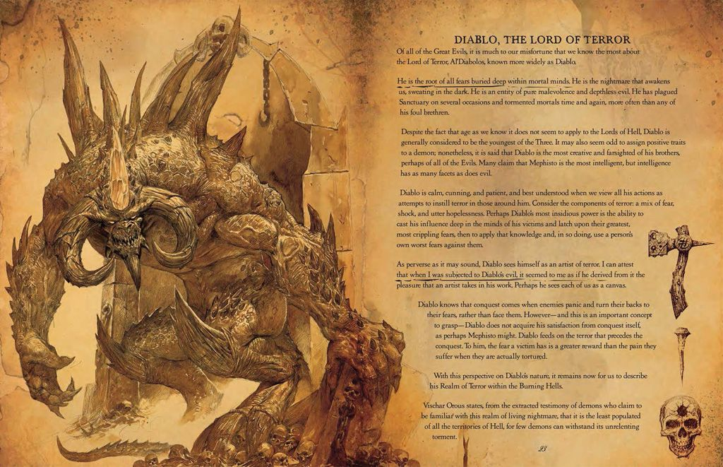 Diablo III: Book of Cain (Hardcover) - 3