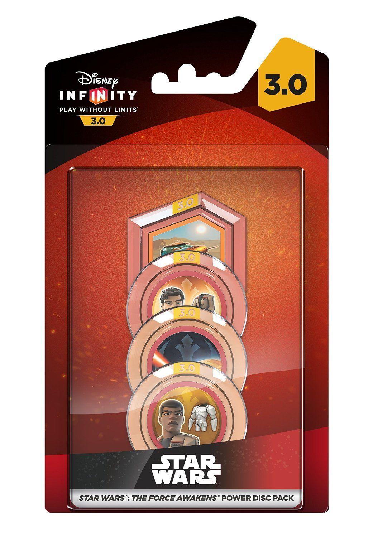 Фигури Disney Infinity 3.0 Power Disk Pack: Star Wars - The Force Awakens - 1