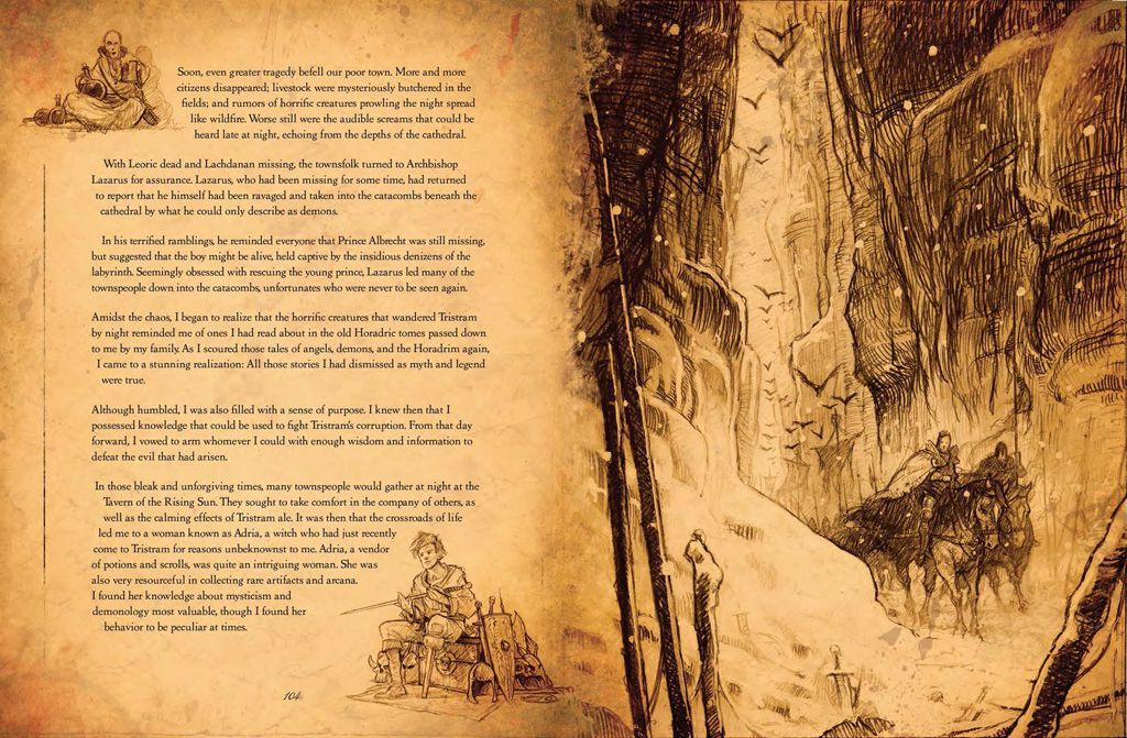 Diablo III: Book of Cain (Hardcover) - 4