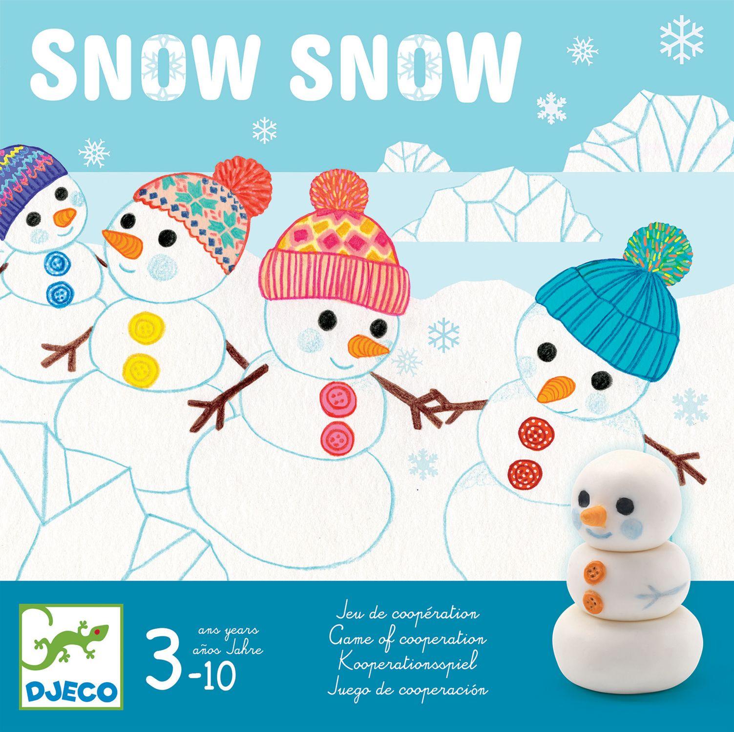 Детска игра Djeco - Snow Snow - 1
