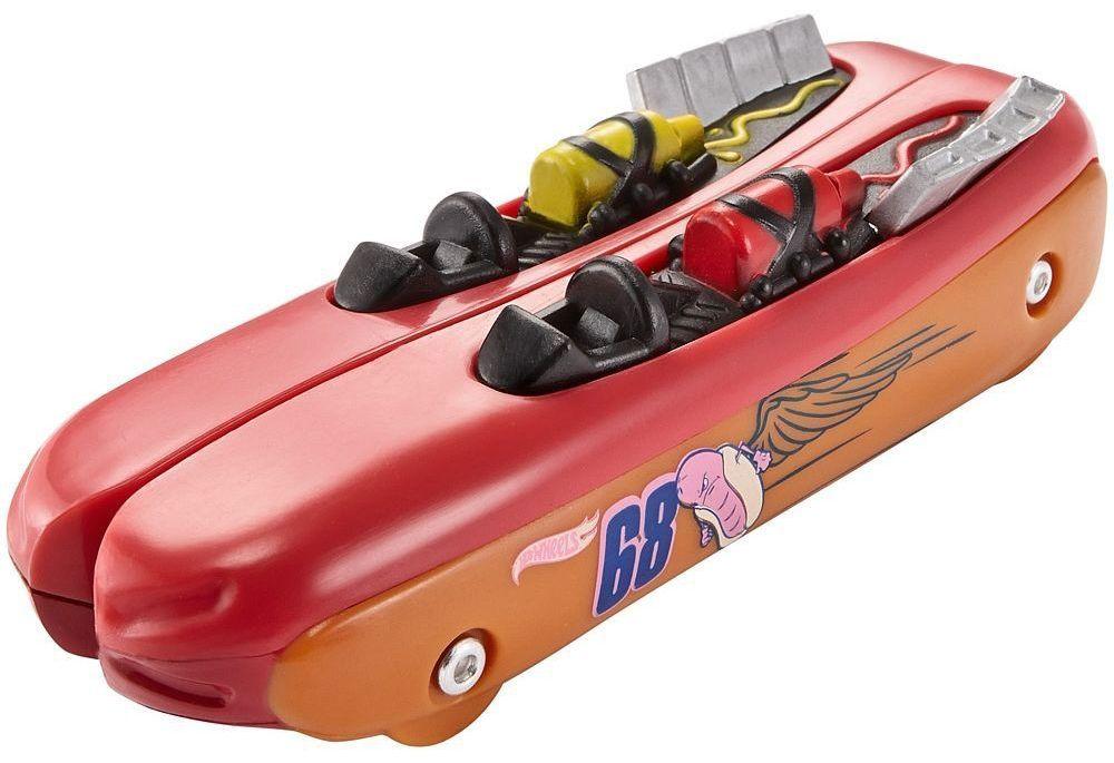 Количка Hot Wheels Split Speeders - Hot Dogger, разделяща се, с магнит - 3