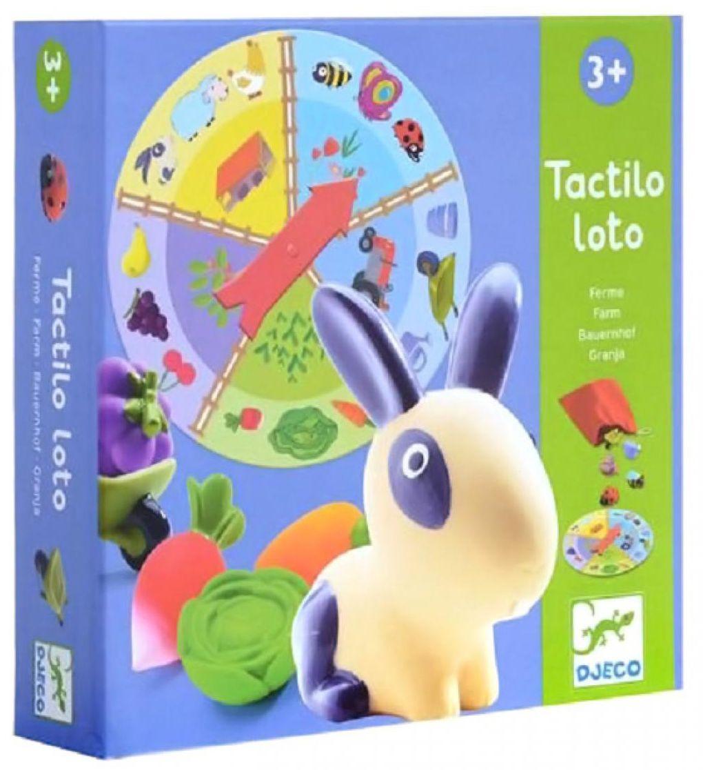 Детска образователна игра Djeco -  Лото ферма - 1