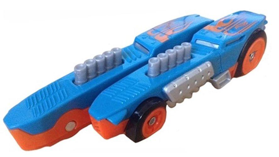 Количка Hot Wheels Split Speeders - Chopped Rod, разделяща се, с магнит - 4