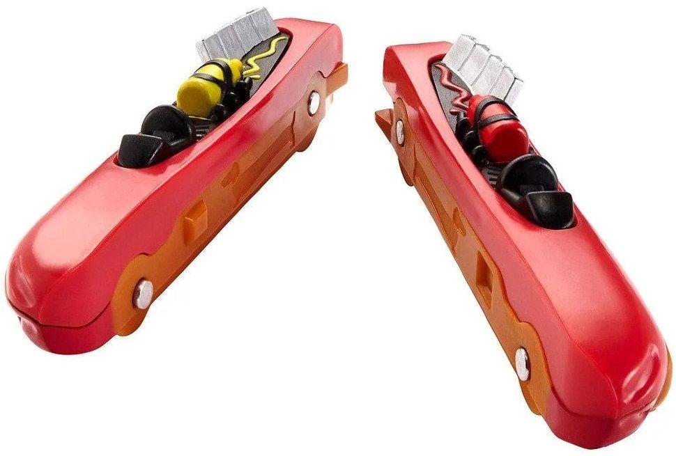 Количка Hot Wheels Split Speeders - Hot Dogger, разделяща се, с магнит - 4
