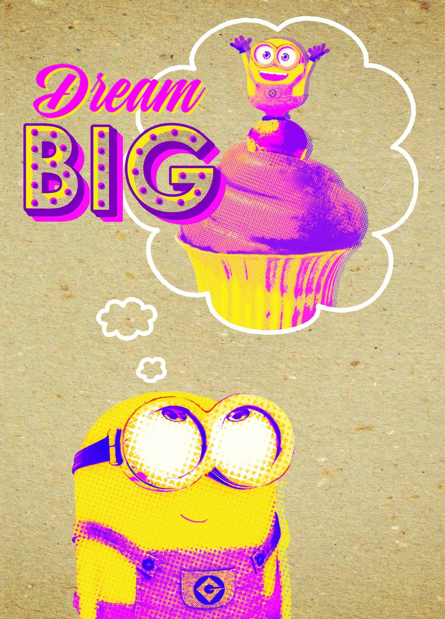 Поздравителна картичка Danilo - Crafty Minions: Dream Big - 1