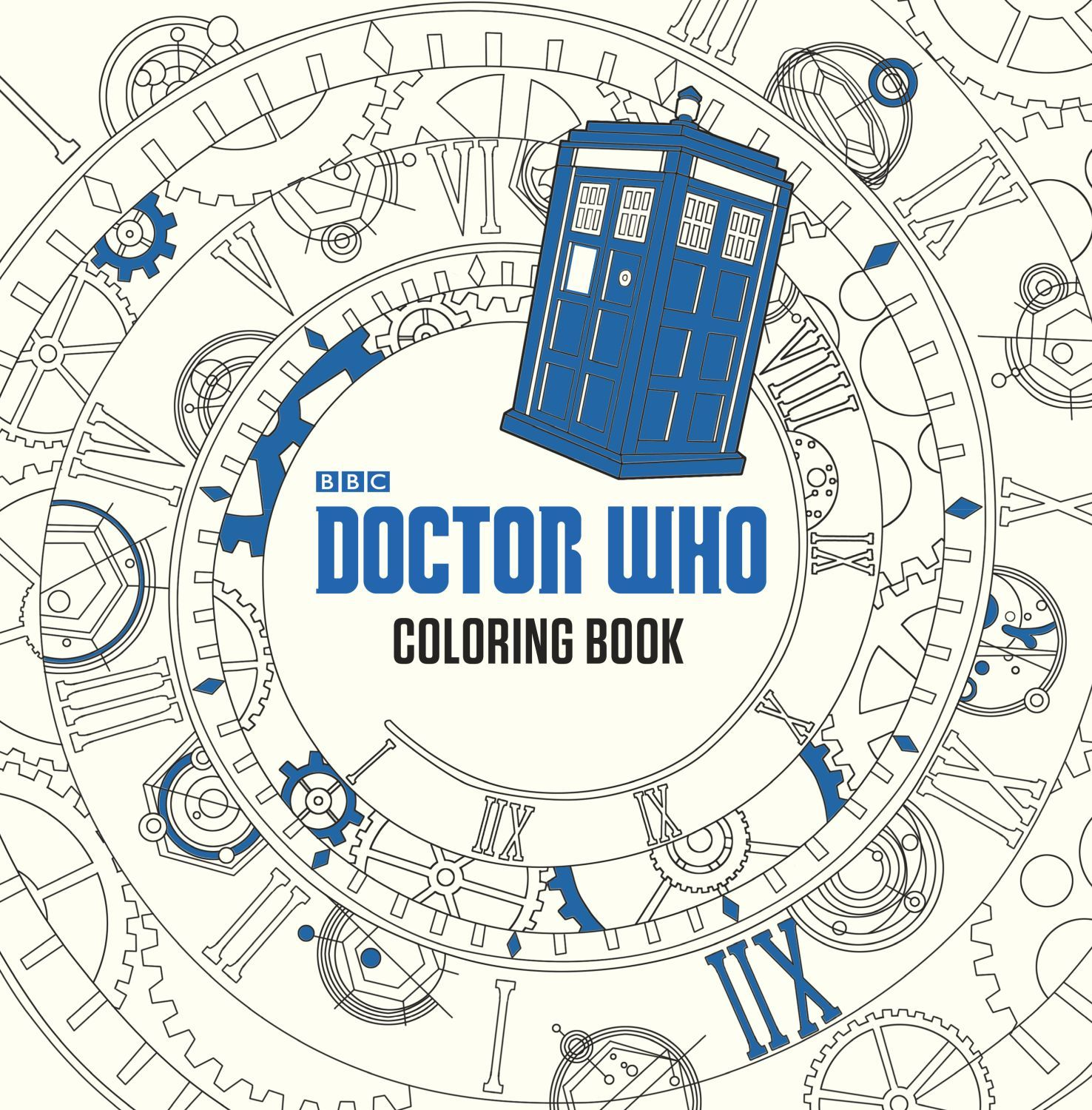 Doctor Who: The Colouring Book - 1