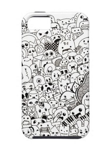 Калъф Doodle за iPhone 5 - 1