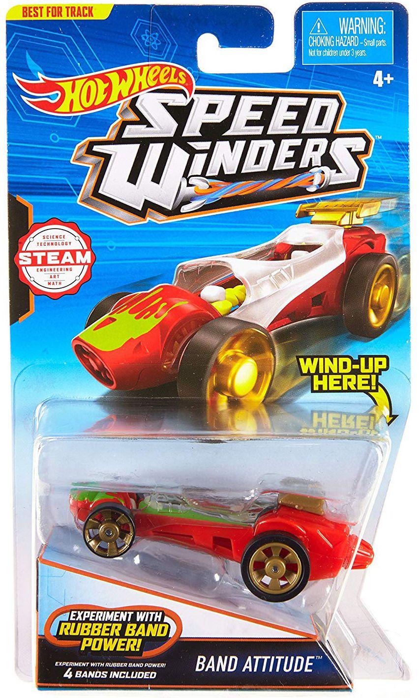 Количка Hot Wheels Speed Winders - Band Attitude - 1