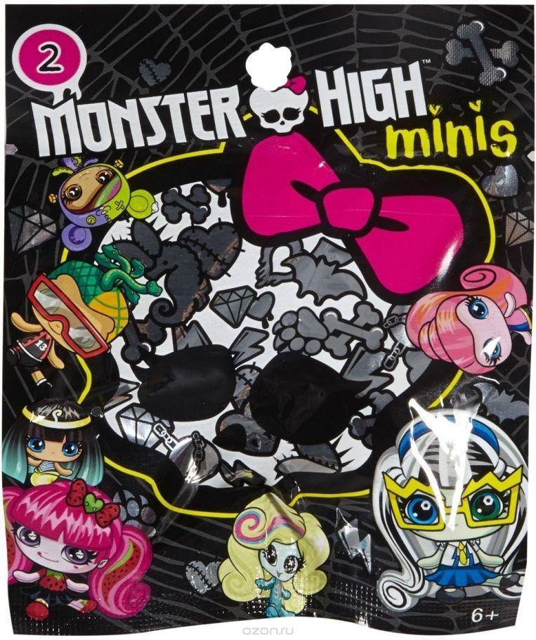 Мини-фигура изненада Mattel - Monster High - 1