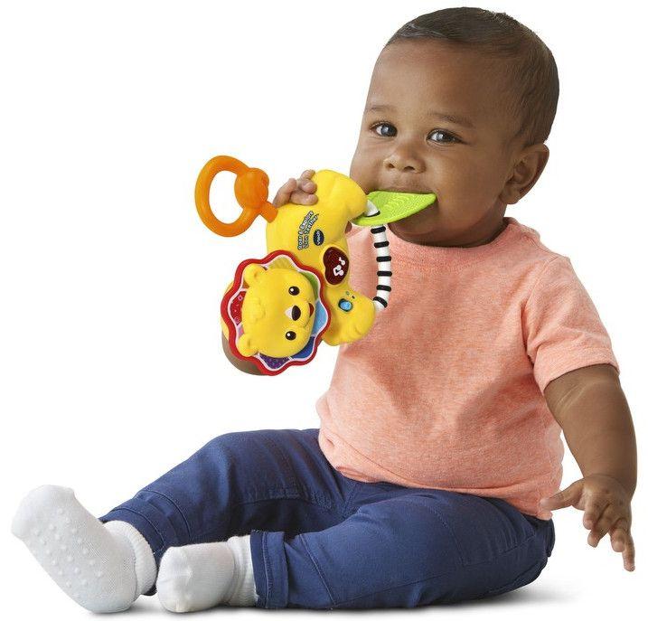 Бебешка дрънкалка Vtech - Лъвче - 3