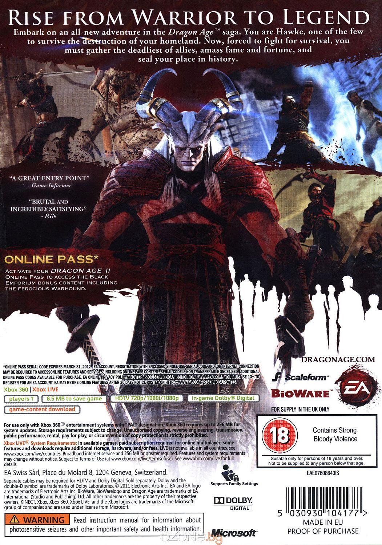 Dragon Age II (Xbox 360) - 3