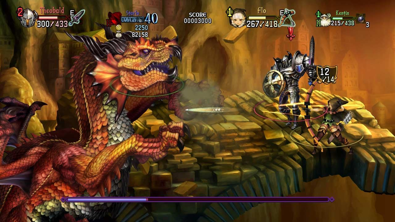 Dragon's Crown Pro: Battle-Hardened Edition (PS4) - 3