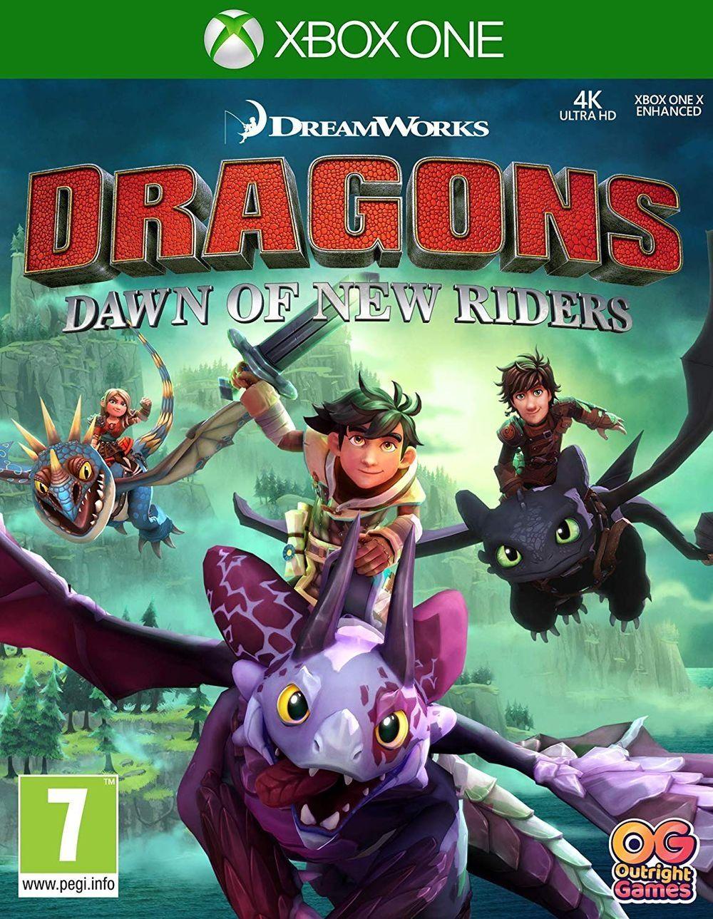 Dreamworks Dragons: Dawn of New Riders (Xbox One) - 1