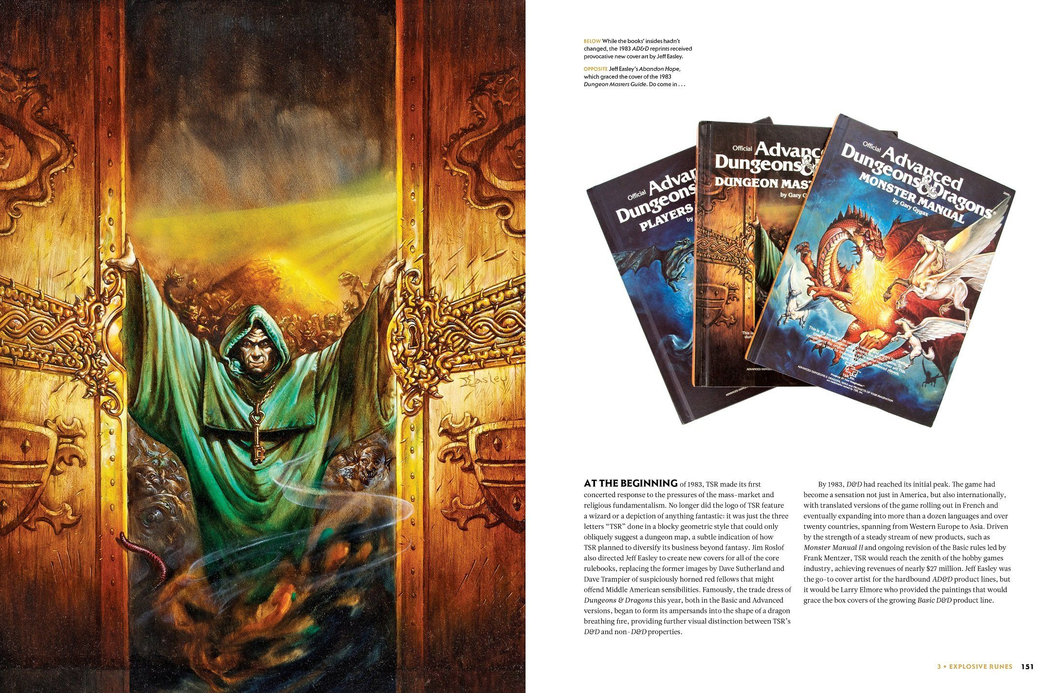 Dungeons and Dragons Art and Arcana: A Visual History (Hardcover) - 5