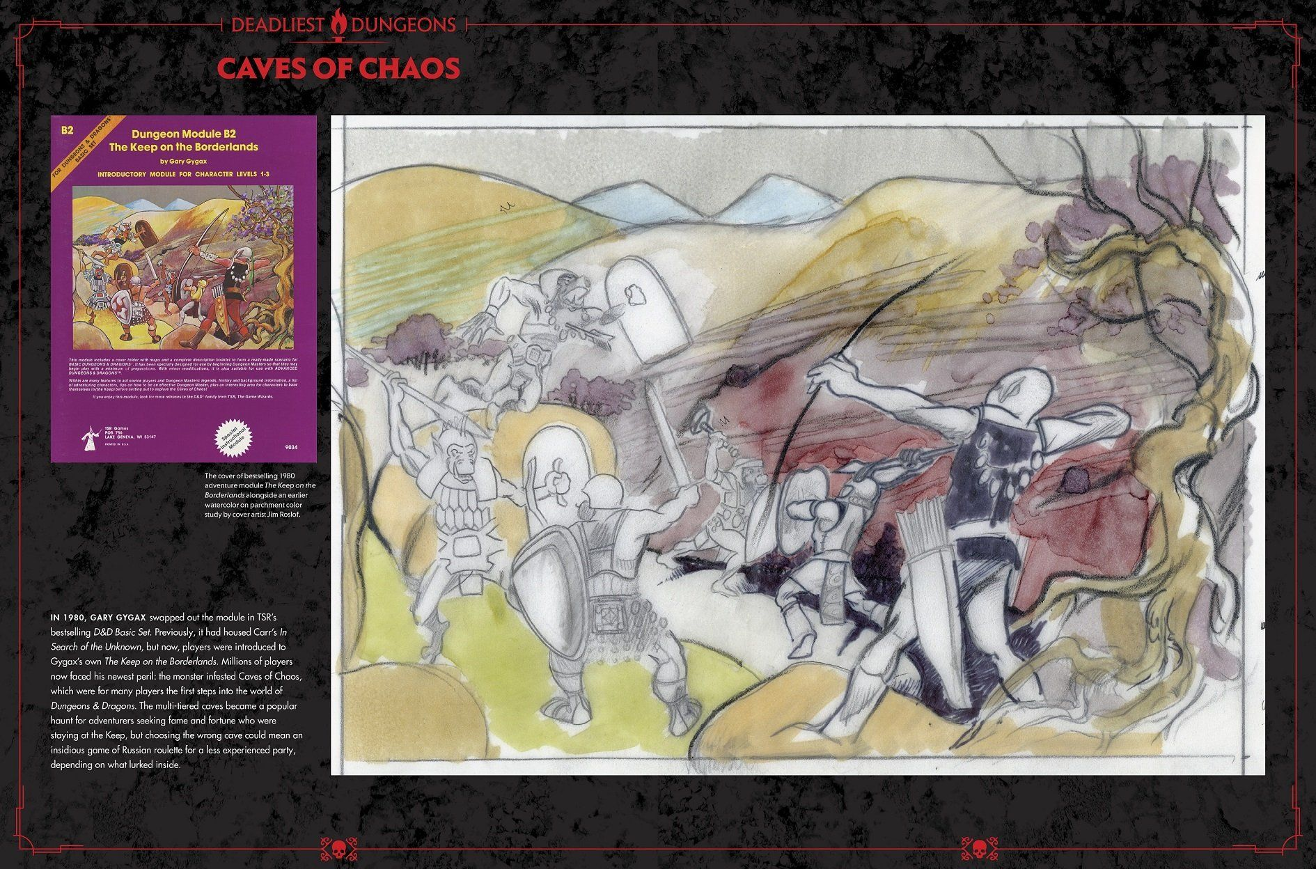 Dungeons and Dragons Art and Arcana: A Visual History (Hardcover) - 3