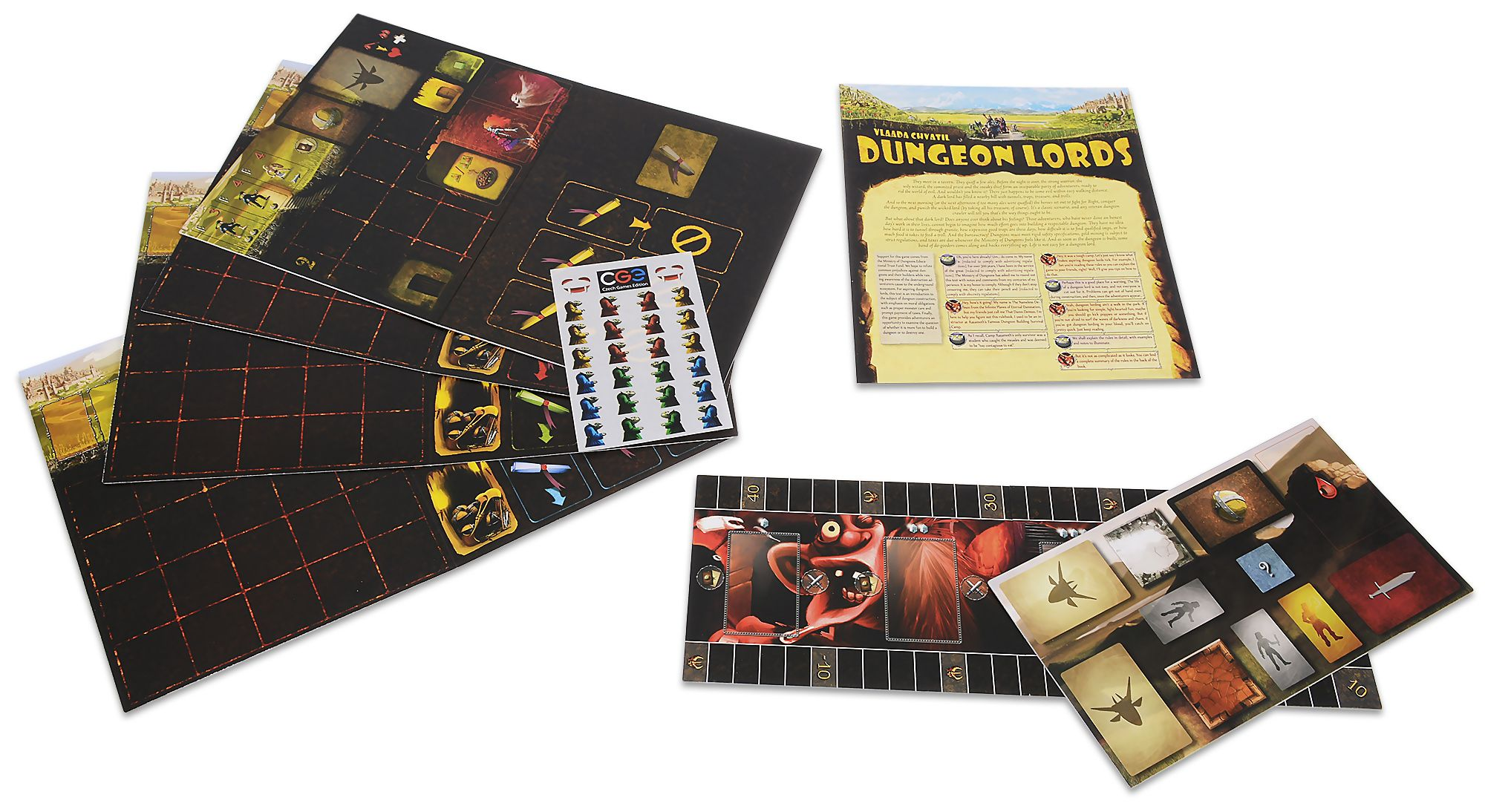 Настолна игра Dungeon Lords - 7
