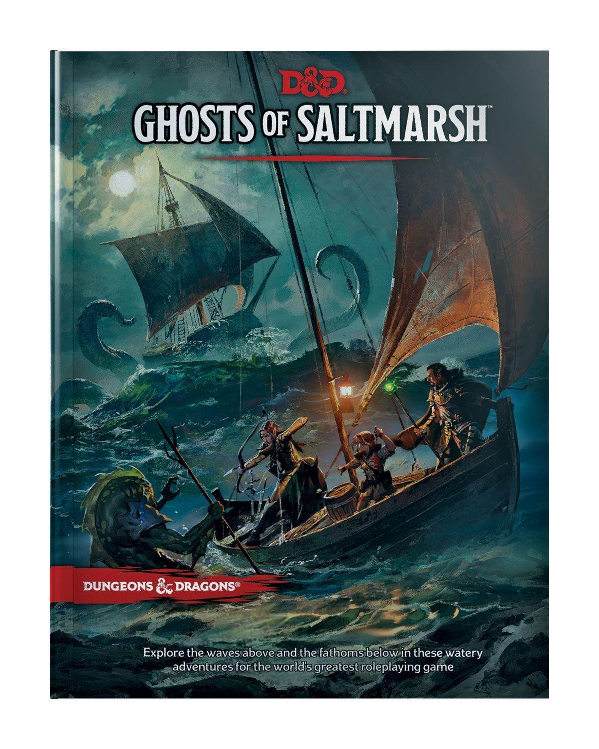 Ролева игра Dungeons & Dragons - Adventure Ghosts of Saltmarsh - 2