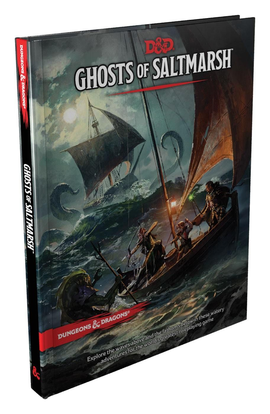 Ролева игра Dungeons & Dragons - Adventure Ghosts of Saltmarsh - 1