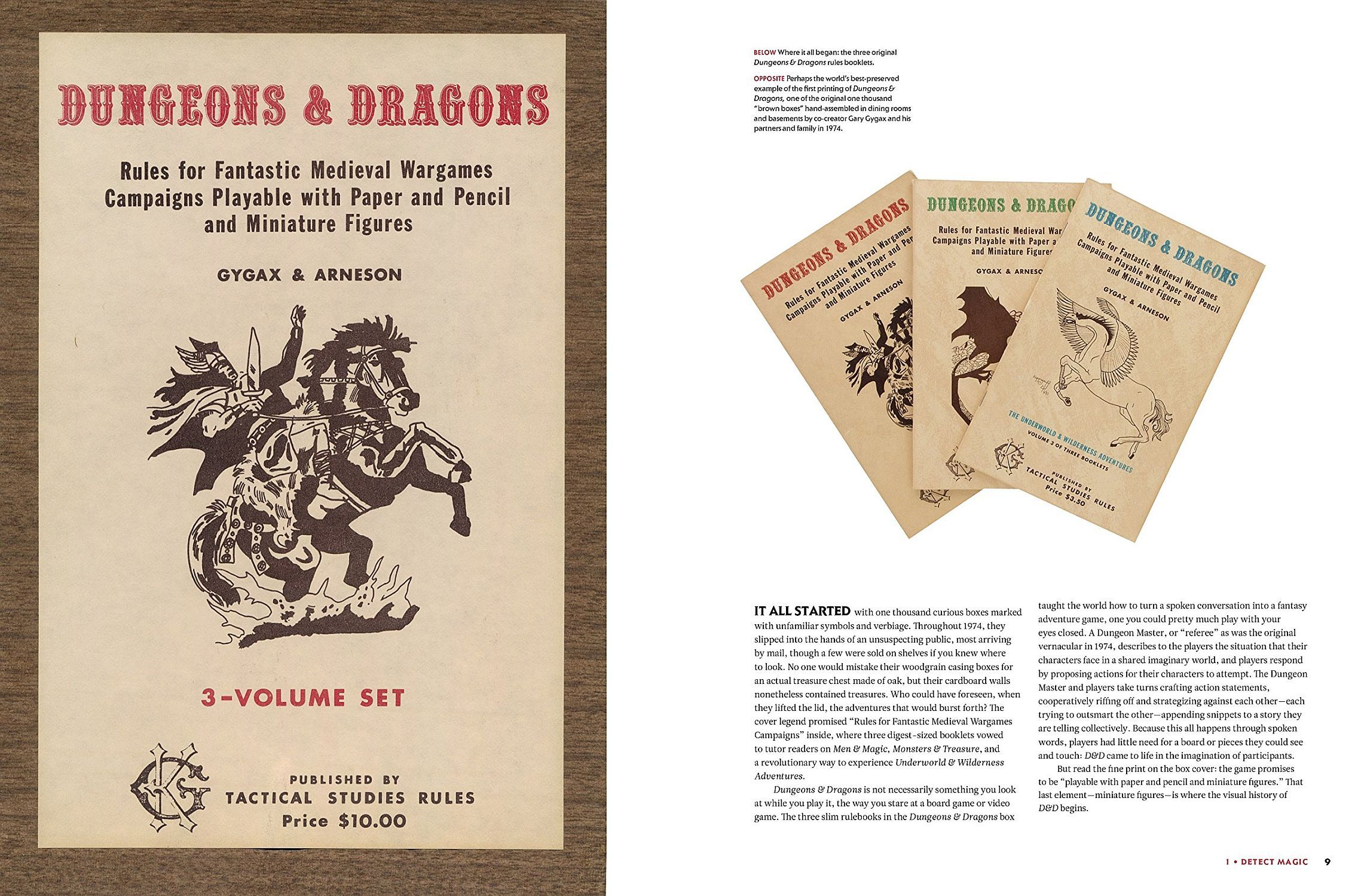 Dungeons and Dragons Art and Arcana: A Visual History (Hardcover) - 2