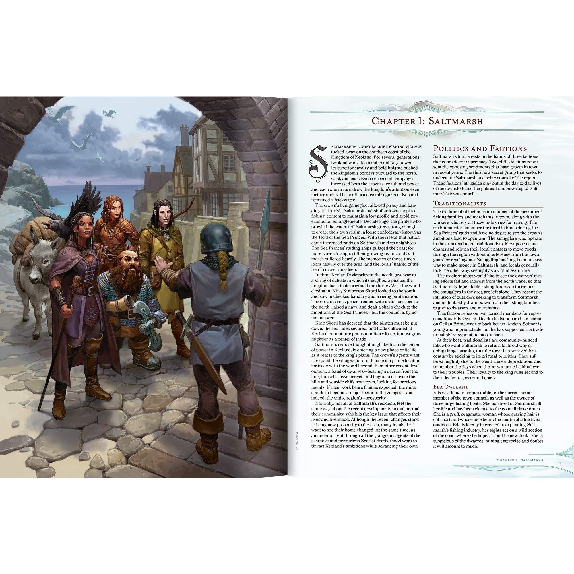 Ролева игра Dungeons & Dragons - Adventure Ghosts of Saltmarsh - 3