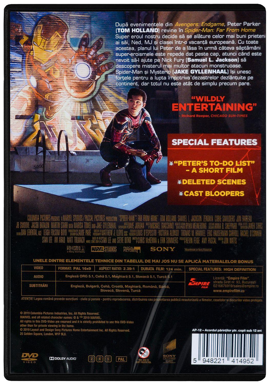 Спайдър-мен: Далече от дома (DVD) - 2