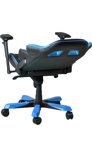 Геймърски стол DXRacer King - черен/син (OH/KF06/NB) - 13