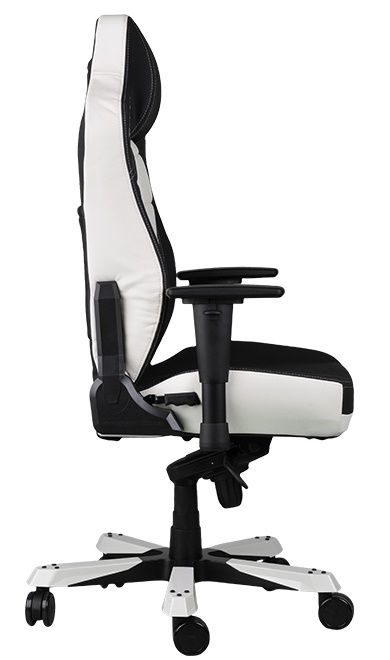 DXRacer CLASSIC Gaming Chair - черен/бял (OH/CBJ120/NW) - 4