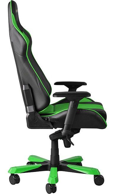 Геймърски стол DXRacer King - черен/зелен (OH/KF06/NE) - 6