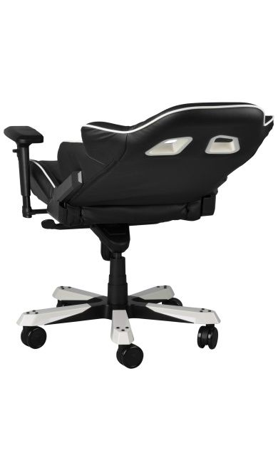 Геймърски стол DXRacer King - черен/бял (OH/KF57/NW) - 4