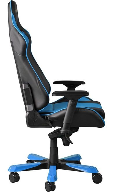 Геймърски стол DXRacer King - черен/син (OH/KF06/NB) - 6