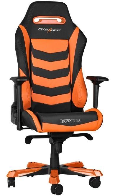 Геймърски стол DXRacer Iron - черен/оранжев (OH/IS166/NO) - 5