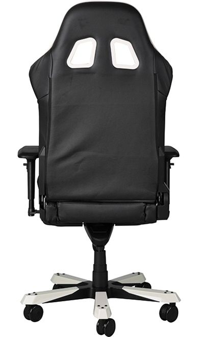 Геймърски стол DXRacer King - черен/бял (OH/KF57/NW) - 3