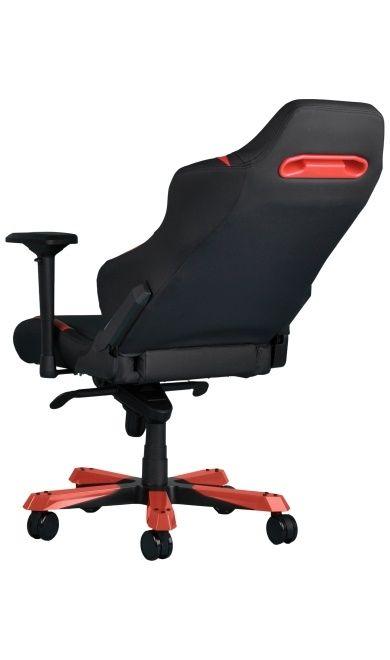 Геймърски стол DXRacer Iron - черен/червен (OH/IS166/NR) - 4