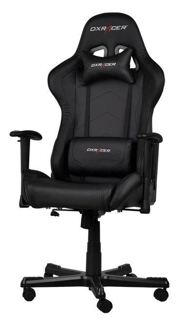 Геймърски стол DXRacer Formula - черен (OH/FE08/N) - 1