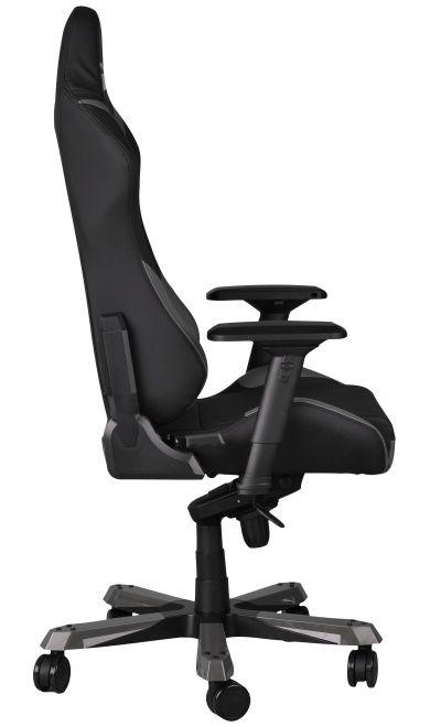 Геймърски стол DXRacer Iron - черен/сив (OH/IF166/NG) - 6