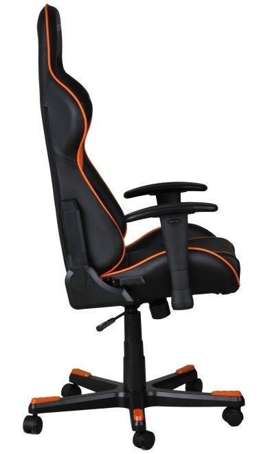 Геймърски стол DXRacer Formula - черен/оранжев (OH/FE08/NO) - 6