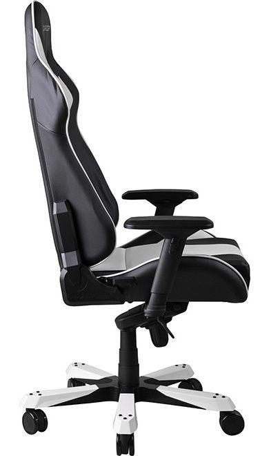 Геймърски стол DXRacer King - черен/бял (OH/KF06/NW) - 9