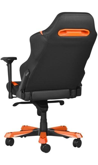 Геймърски стол DXRacer Iron - черен/оранжев (OH/IS166/NO) - 8