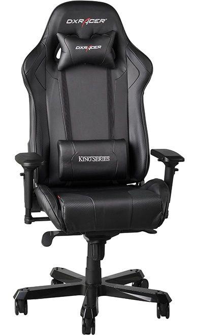 Геймърски стол DXRacer King- черен (OH/KF06/N) - 10
